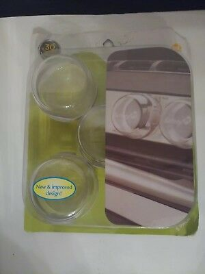 Safety 1st Clear View Stove Knob Covers, 5 Count, NEW