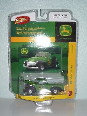 Johnny Lightning John Deere '50 Chevy Pickup
