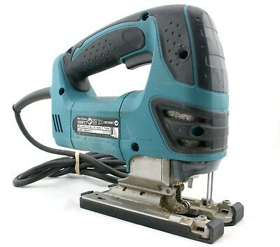 Makita Jigsaw 4350FCT Corded Orbital Action With D-Handle Tool-less Blade Fixing