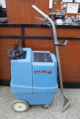 Harloff Wet Dry Carpet Cleaner  Extracter Vacumm w Hose and Wand LOCAL PICK UP