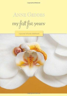 MY FIRST FIVE YEARS A JOURNAL OF EARLY CHILDHOOD MOTH ORCHID - Hardcover **NEW**