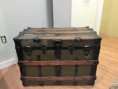 Rustic Storage Pirate's Colonial Chest / Trunk