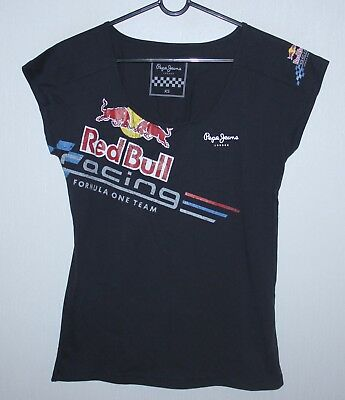 Red Bull womens racing team shirt Size XS Pepe Jeans