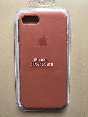 Original Apple Iphone 7 Silicone Case - Flamingo Pink - Genuine