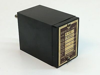 Monitor Products Type MWE Frequency 1735.0 Radio Crystal Unit 17350