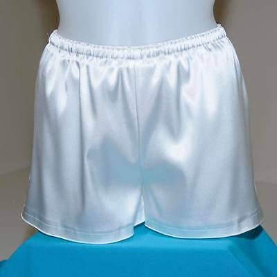 White Victorian Adult Baby Pantaloons Sissy Maid Cute Bloomers Short India NW