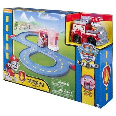 Paw Patrol Roll Patrol Marshall's Pet Rescue Track Set. Shipping is Free