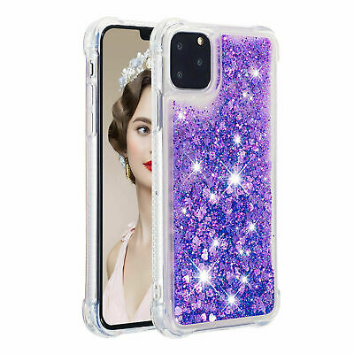 For iPhone XS Max XR 8 X Case Slim Glitter Liquid Quicksand Clear Soft TPU Cover