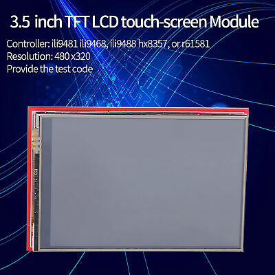 3.5'' TFT LCD Display Arduino Touch Screen Module Board 480x320 Plug and Play im