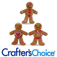Gingerbread Men (Mini) Toys - 12 Pieces