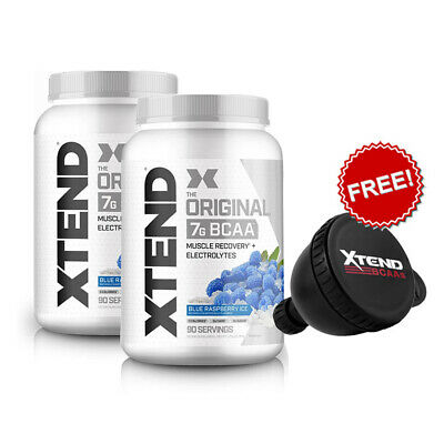 2x Scivation Xtend BCAA 90 Serves Branched Chain Amino Acids Electrolytes
