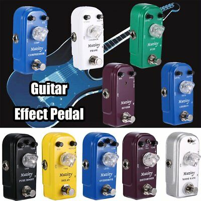 Mini Guitar Effect Pedals True Bypass Delay Phaser Chorus Distortion Overdrive