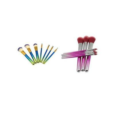 7x Makeup Brushes Set Foundation Powder Eyeshadow Eyeliner Lip Brush Tool