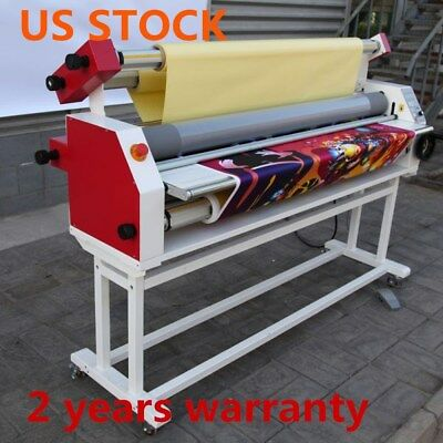 """US Stock Ving 110V 63"""" Full - auto Wide Format Cold Laminator with Heat Assisted"""