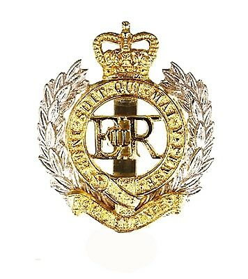 Issue Royal Engineers RE Cap / Beret Badge ( British Army (NSN: 8455-99-973-9387