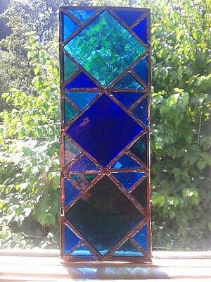 Stained Glass  - Handmade - Suncatcher / Window Hanging - NEW