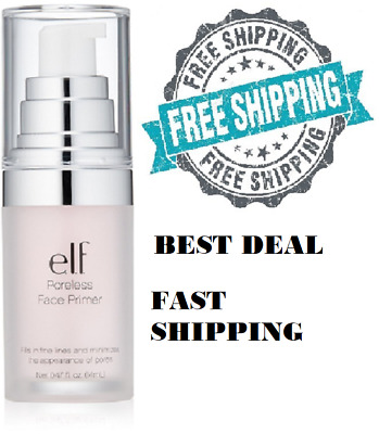 ELF E.l.f. Poreless Primer, 0.47 Fluid Ounce Face Primers Make Up Skin Vegan New