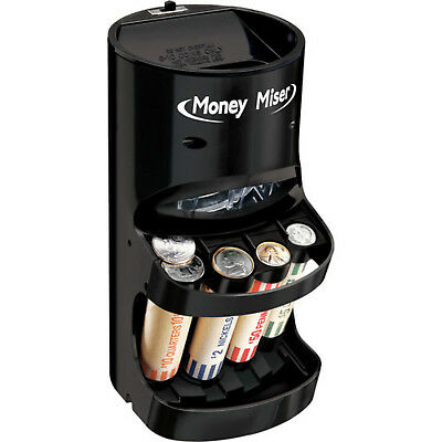 Coin Machine Sorter Change Counter Motorized Auto Money Roller Wrappers Included