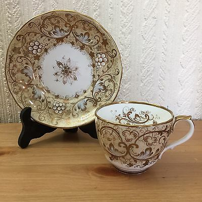 Antique Alcock And Sons Cup And Saucer