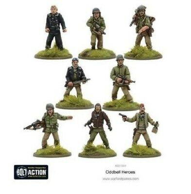 Warlord Games - Bolt Action - Oddball Heroes