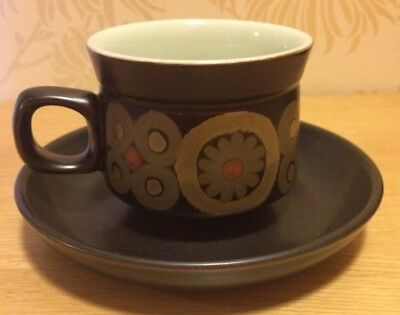 Vintage Denby Arabesque / Samarkand - Tea Cup and Saucer Excellent 5 Available