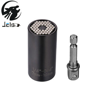 Jelbo Perceuse Adaptateur Forage Outils Universal Socket Adaptateur + Perceuse 2