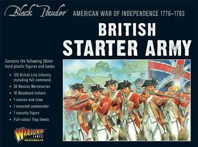 American War of Independence British Army Starter Set (160)