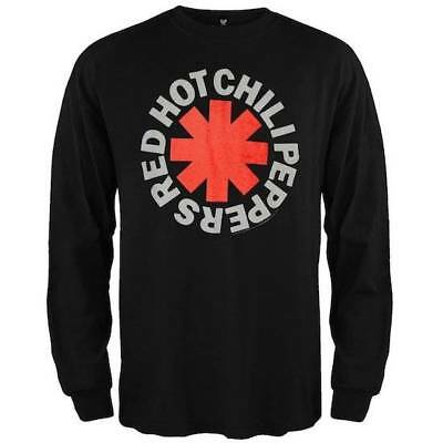 Red Hot Chili Peppers Asterisk Long Sleeve T-Shirt SM, MD, LG, XL, XXL New