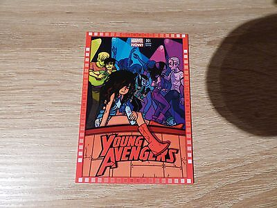 "2013 Upper Deck Marvel Now! #121-BO ""Young Avengers"" #1"
