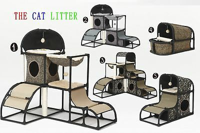 Cat Tree Condo Furniture Scratching Post Pet Cat Kitten House Playing Holes NEW