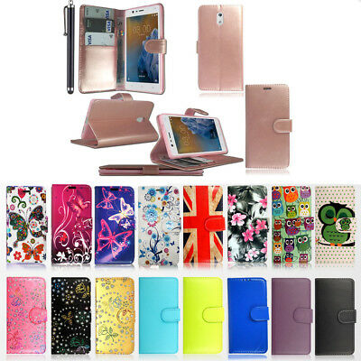 Premium Wallet Flip PU Leather Case Cover For Nokia 9 8 7 6 5 3 & 2