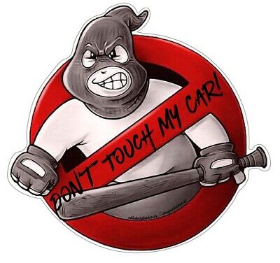 Don't Touch My Car! Aufkleber Sticker JDM Hoonigan Oldschool Tuning Auto