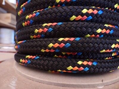 "5/8"" x 150 ft. Double Braid~Yacht Braid Polyester rope.Made in USA."