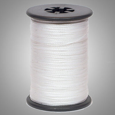 White BCY 3D Serving Thread .017 120 Yard Jig Spool Bow String