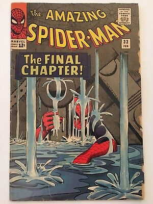 AMAZING SPIDER-MAN #33 THE FINAL CHAPTER!!!Marvel Comics DITKO LEE