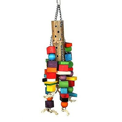 Happy Pet Bamboo Supersize Wooden Parrot Toy