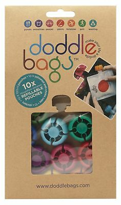DoddleBags Reusable food pouch Pack of 10