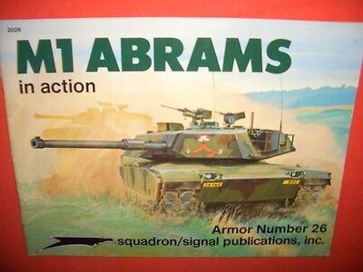 Squadron Signal 2026 Armor Number 26, M1 ABRAMS in action