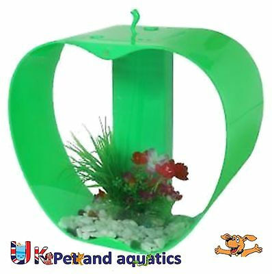 Cleair iWish Mini Apple Tropical Aquarium Green 26ltr