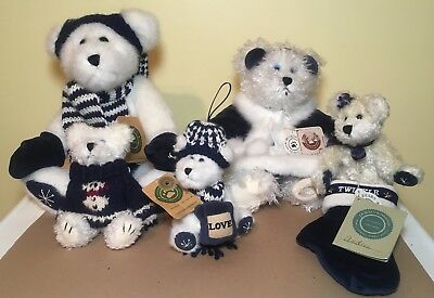 Boyds Bears Winter Bears - Set of 5