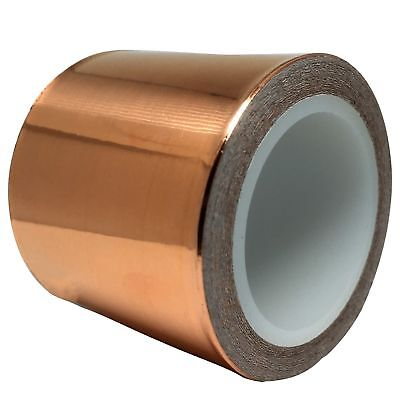 Copper Foil Tape (50mm by 6m) for Guitar & EMI Shielding Slug Repellent Craft...