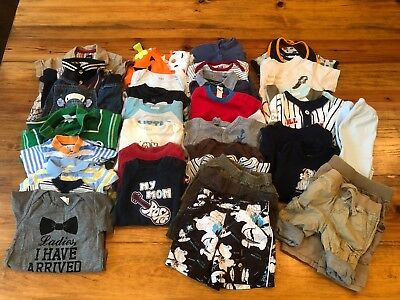 FANTASTIC lot of 3-6 month baby boy clothes: Baby Gap, Gymboree, Carter's, etc.