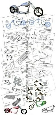 Mini Chopper Plans - 6 Styles - NO BENDER NEEDED! Better than a moped!