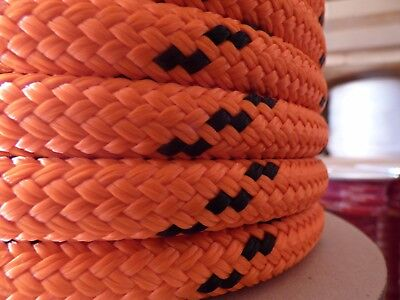 "5/8"" x 300 ft. Double Braid-Yacht Braid Polyester Rope.Made in USA."