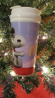 McDonald's Collectible Insulated Cup 16oz The Peanuts Movie Snoopy