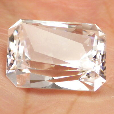 DANBURITE-MEXICO 21.66Ct CLARITY SI1-VERY LARGE-NATURAL VERY LIGHT PINKISH-RARE!
