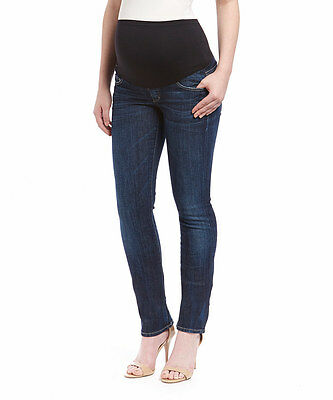 7f3156438a9cd NWT Citizens of Humanity Ava in Spectrum Straight Leg Maternity Jeans 27 x  34
