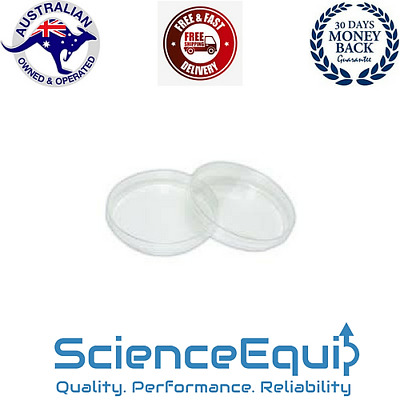 Plastic Petri Dishes with Lid, Pack of 12 Pcs POLYPROPYLENE, 4 Sizes