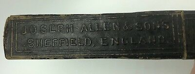 Vintage Straight Razor BOX ONLY Joseph Allen & Sons Non XXL