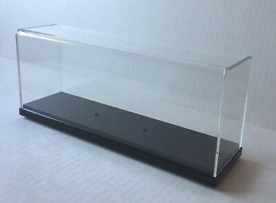 Acrylic DISPLAY CASE 25cm long for scale models of cruise ships, ocean liners,